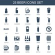 25 beer icons