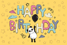 Happy Birthday Greeting Card D...