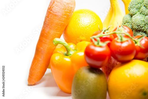 비타민 과일 다이어트 음식 누끼 백그라운드 사진 이미지 © blueman171