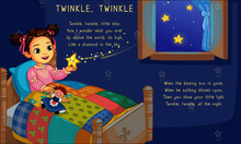 Twinkle Star And Beautiful Lit...