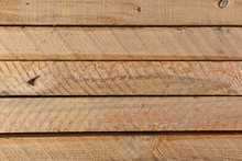 Several Rough Sawn Lumber Boards