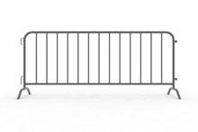 Steel Barricade 3d Rendering