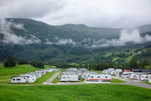 Camper Trailers At Norwegian Holiday RV Park