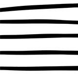 Prosty ręcznie rysowane czarno-biały wzór w paski - 245152362