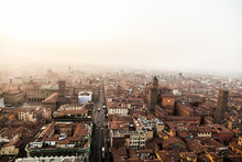 Aerial Panoramic Cityscape Of ...