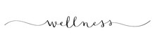 WELLNESS Brush Calligraphy Icon