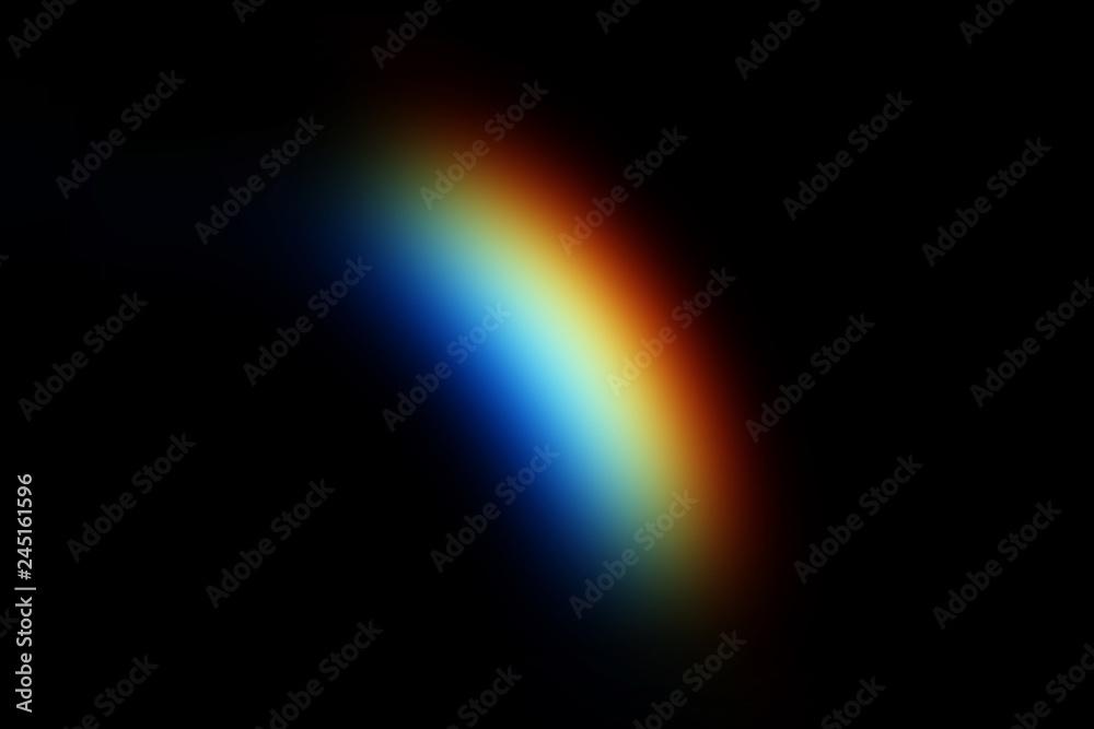 Fototapety, obrazy: Rainbow Photo Overlays, rainbow clipart, Rainy day rainbow photoshop overlays