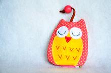 DIY Handmade Key Cover Owl Dol...