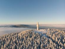 Luftaufnahme Von Schneeberg Un...