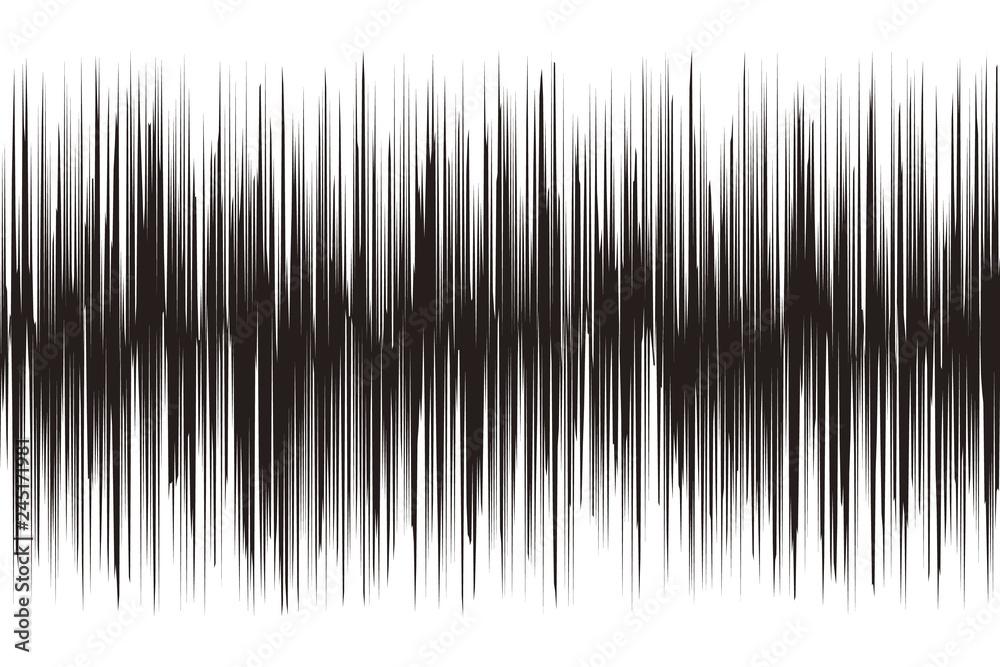 Fototapeta 背景素材,ノイズ,騒音,デジタル,サウンドビート,音声,音響,声,音波,音源,ヘビーメタル,金属音,