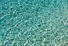 Water Surface With Small Waves...