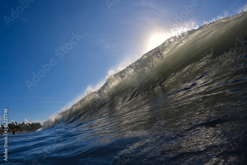 Fototapeta vague tahitienne