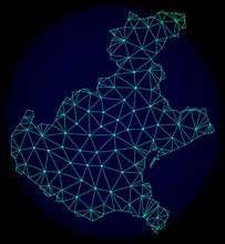 Polygonal Vector Mesh Map Of V...