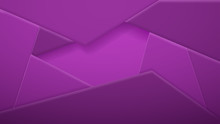 Abstract Background Of Polygonal Tiles In Purple Colors