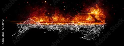 Strzałka ognia i wody