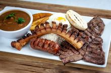 Colombian Food Bandeja Paisa