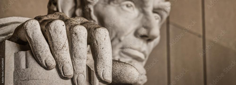 Fototapeta The Hand of Abe (Banner)