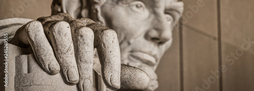 Photographie  The Hand of Abe (Banner)