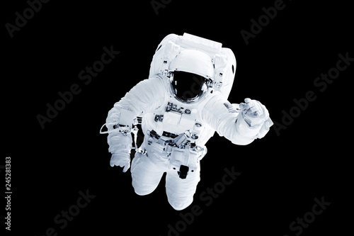 Astronaut Afloat - Elements of this Image Furnished by nASA Wallpaper Mural