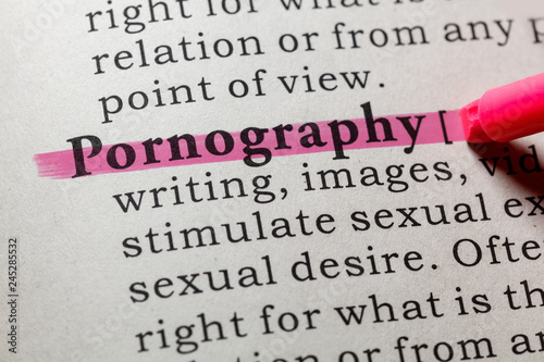 definition of pornography - 245285532