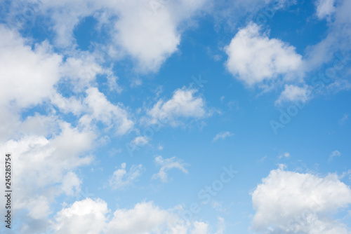 Photo  nature sky background