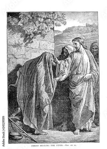 Life of Jesus Christ. Fototapeta