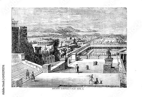 Obraz na plátně Corinth