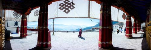 Obraz na plátně Sera Monastery Lhasa, Tibet, China