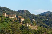 San-Giovanni-di-Moriani Village In Corsica Mountain