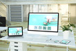 responsive devices dental clinic