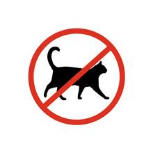 No Cats Sign Symbol