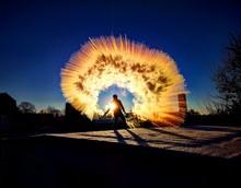 Mpemba-Effekt In Der Winterlichen Morgensonne
