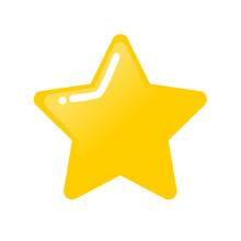 Cartoon Golden Star