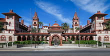 Flagler College, Once The Historic Ponce De Leon Hotel, In Downtown St. Augustine, Florida