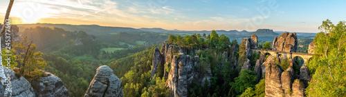 Fototapeta Panorama Basteibrücke obraz