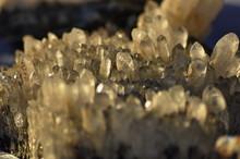 Mine Stones From Romania ,quartz Crystals,
