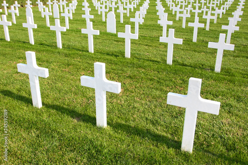 Photo French military cemetery (North of France)