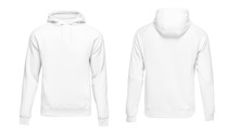 White Male Hoodie Sweatshirt L...