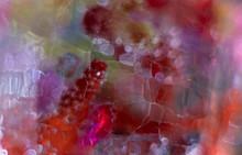 Kolorowe Bąbelki Z Kolorowymi Koralikami Makro