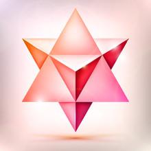 3d Merkaba, Esoteric Crystal, ...