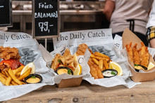 Fish And Chips In Denmark
