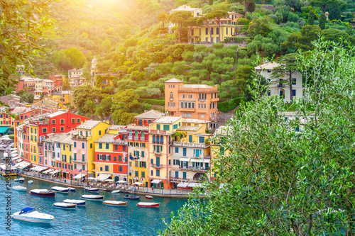 Photo sur Toile Ligurie Landscape Portofino, Liguria, Italy
