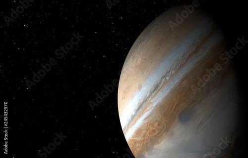 Fotografia  Jupiter - High resolution 3D images