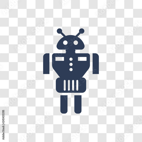 Photo  Droid icon vector