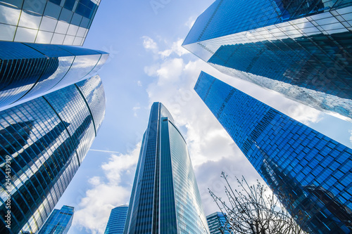 Foto op Plexiglas Stad gebouw buildings of modern business center
