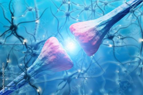 Neuron close up