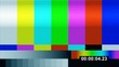 TV Test Pattern With Timer