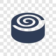 Cinnamon Roll Icon Vector