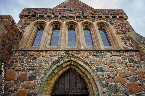 Fotografia Iona Abbey Sanctuary Entrance Detail
