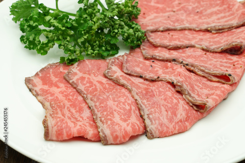 Foto op Aluminium Vlees ローストビーフ